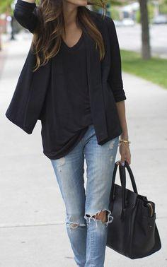 Style et confort avec le jeans boyfriend