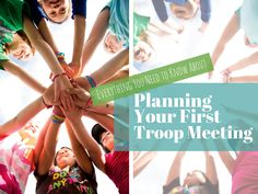The time has come for your first troop meeting.. we know you can do it! Here are some tips to ease those first meeting jitters!
