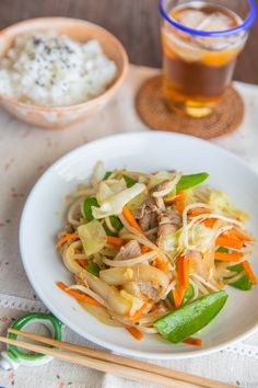 Stir Fry Vegetables (Yasai Itame) 野菜炒め - Cooking a healthy meal for your family on busy weeknight is made possible with this Stir fry Vegetables (Yasai Itame) recipe. Loaded with plenty of vegetables and your choice of protein, everything comes together in less than 30 minutes! #StirFry #StirFryVeggie #野菜炒め #easyrecipe #quickrecipe | Easy Japanese Recipes at JustOneCookbook.com