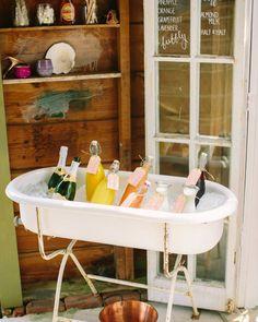 bridal shower bars love and light photographs Bridal Shower Drinks, Tropical Bridal Showers, Bridal Shower Party, Bridal Shower Decorations, Wedding Reception Food, Bar Set Up, Instagram Wedding, Martha Stewart Weddings, Cocktails