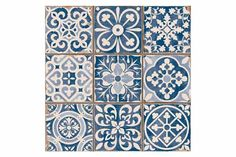 Tangier blue tons of tiles