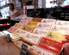A subsequent visit: the proprietor's daughter and new selection of Bonnat