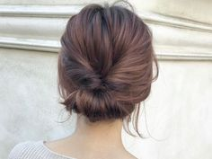 Pretty updo for medium hair Headband Hairstyles, Wedding Hairstyles, Medium Hair Styles, Short Hair Styles, Hairdos For Short Hair, Hair Arrange, Hair Dos, Gorgeous Hair, Bridal Makeup