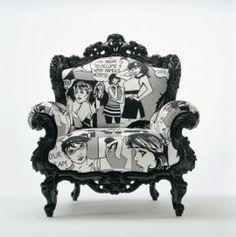 1000 images about pop art muebles on pinterest roy for Muebles pop art
