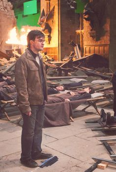 Harry Potter and the Deathly Hallows Part II behind the scenes