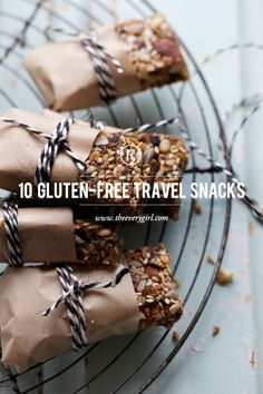 10 Healthy Snacks for the Gluten-Free Traveler #theeverygirl