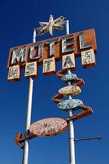 Vintage Motel Sign - Fresno, Ca