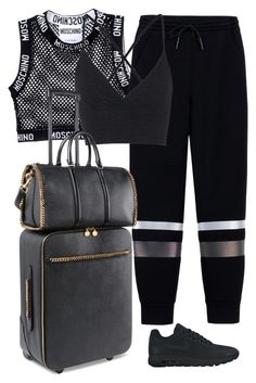 A fashion look from January 2016 featuring crop tops, strappy top and T By Alexander Wang. Browse and shop related looks. Sporty Outfits, Kpop Outfits, Classy Outfits, Stylish Outfits, Fashion Women, Women's Fashion, Fashion Outfits, Polyvore Outfits, Polyvore Fashion