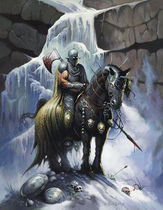 Iceman by Ken Kelly