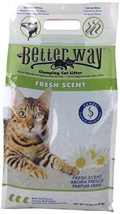Ultra Pet Better Way Clumping Fresh Scent Cat Litter with Western Bentonite Clay, bag -- You can find more details by visiting the image link. (This is an affiliate link and I receive a commission for the sales) Cat Liter, Clumping Cat Litter, Cat Store, Cat Id Tags, Cat Shedding, Cat Fleas, Cat Grooming, Litter Box, Cat Food