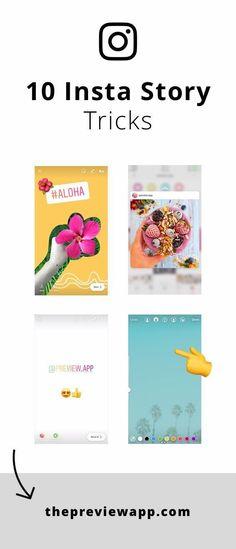 Here are our favorite Insta Story tricks. Feeds Instagram, Instagram Bio, Instagram Story Ideas, Photo Instagram, Instagram Design, Marketing Digital, Online Marketing, Social Media Marketing, Seo Marketing