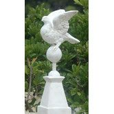 Found it at Wayfair - Dove on Pedestal Statue