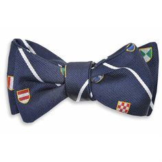 Club Master Bow Tie in Navy by High Cotton