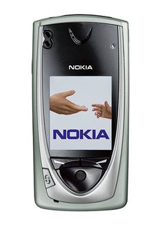2002: Nokia 7650 with a large colour display