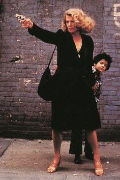 「グロリア」1980年 ジョン・カサヴェテス監督 ジーナ・ローランズ主演