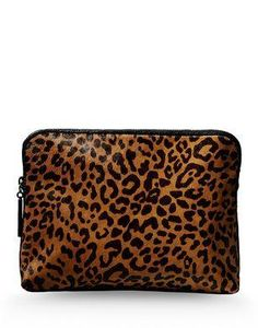3.1 Phillip Lim leopard clutch