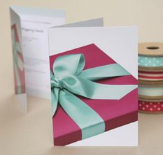 Gift Wrapping Course Vouchers by Jane Means