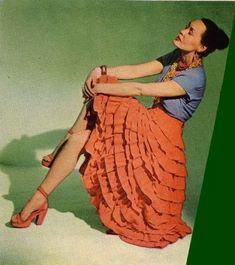 606b7630a Salsa Outfit, Salsa Dress, Cuba Outfit, Vintage Couture, Cuba Fashion,  Fashion