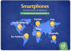 Mira cuanto usan el Smartphone en distintas partes del mundo :D
