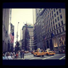 Manhattan, caminando por la 5ta Avenida..