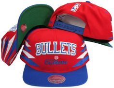 Washington Bullets Mitchell   Ness Diamonds Are Forever Snapback Hat by  Mitchell   Ness.  29.99. High crown fit. Officially licensed by the NBA. c5982e1ed222