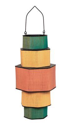 Colour Block Lantern - Plümo Ltd Colour Block, Color Blocking, Lights Fantastic, Bohemian Style Jewelry, Lanterns, Ceiling Lights, Lighting, Pendant, Pots