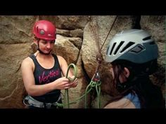 Rock Climbing Basics: Clove Hitch and Figure 8 on a Bight via Climbing Magazine