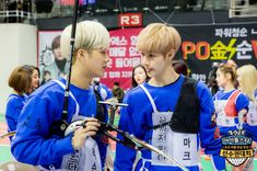 "Part Take a Look at Behind the Scenes of the Idol Star Athletics Championships"" Mark Jackson, Jackson Wang, New Year Special, After School Club, Got7 Mark Tuan, Markson, Eric Nam, Korean Entertainment, Fun Events"