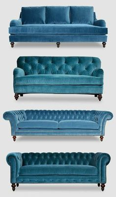 Best Collections of Sofa and Couch Sofacouchs com is part of Blue velvet sofa - Find the best image collections of sofa and couches, we will give people ideas for your home or living room as a good furniture Living Room Sofa, Home Living Room, Living Room Furniture, Living Room Decor, Velvet Furniture, Blue Furniture, Furniture Dolly, Apartment Living, Office Furniture
