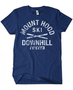 43c86c586672 Evoke Apparel - Mount Hood Skiing Vintage Graphic Tee