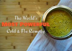 The World's Most Powerful Cold & Flu Remedy - Are You Brave Enough To Try It?   >>>   Nope!