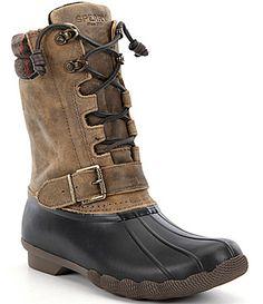Sperry Saltwater Misty Waterproof Cold Weather Duck Boots #Dillards