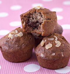 Muffins à la banane, coeur nutella - Ôdélices : Recettes de cuisine faciles et originales !