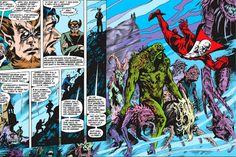 Crítica | A Saga do Monstro do Pântano: Era Alan Moore (Monstro do Pântano Vol. 2 –