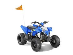 New 2016 Polaris Outlaw 110 EFI Voodoo Blue ATVs For Sale in Michigan. 2016 Polaris Outlaw 110 EFI Voodoo Blue, PERFECT TOY FOR THE KIDS...HARD TO FIND SO RESERVE YOURS TODAY AND SAVE $$$$ For riders 10 years old and older with adult supervision Electronic Fuel Injected (EFI) 112 cc engine Parent-adjustable speed limiter