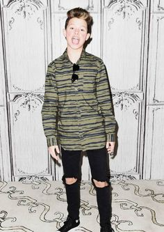 Jacob Sartorius at the Build Presents event, discussing his new album in January 2017...
