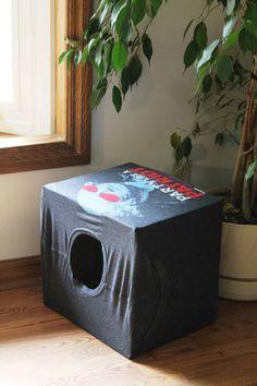 Diy Cat Bed, Diy Dog, Cat Tent, Diy Cat Toys, Cat Cave, Cat Room, Cat Furniture, Diy Stuffed Animals, Dog Bed