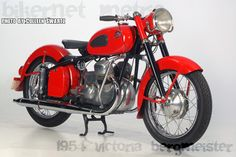 1954 Victoria Motorcycle Germany