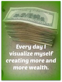 601 Best Money Affirmations images in 2019 | Positive