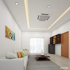 Living Room Decor India, Wooden Rack, Interior Work, Wooden Cabinets, Center Table, Picture Wall, White Leather, Centre, Cushions