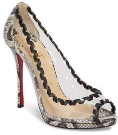 8af3b8401ad4 Christian Louboutin Hargaret Genuine Snakeskin Pump. Louboutin High HeelsChristian  Louboutin ShoesExpensive ...