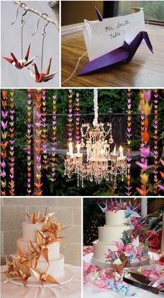 Venha aprender Como fazer cortina de Tsurus para seu casamento, festa ou noivado. Aqui você aprenderá passo a passo de como fazer o origami Tsuru.