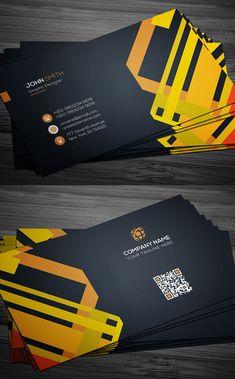 22 New Modern Business Cards PSD Templates