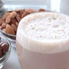 This hot chocolate is ideal for those who are lactose intolerant but still want to enjoy hot chocolate. This tastes like chocolate almonds and is so creamy and delicious!