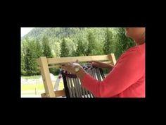 ▶ Rag Rug Weaving Part 3 - Starting The Weft - YouTube