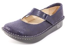 Alegria Dayna Blueberry Dottie - on closeout for $69! | Alegria Shoe Shop