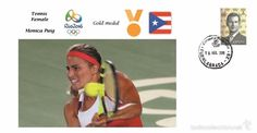 Spain 2016 - Olympic Games Rio 2016 - Gold medal Tennis female Puerto Rico cover