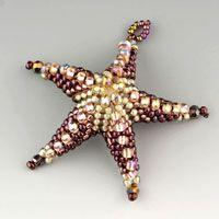 Beaded Starfish and Stars