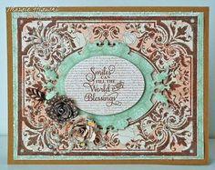 Black Eyed Susan Vintage Labels Five Clear Stamps