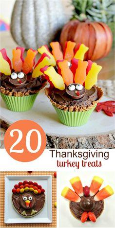 20 Thanksgiving turkey treat ideas